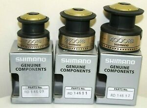 SHIMANO SPARE SPOOL TO FIT HYPERLOOP 1000RB, 2500RB & 4000RB - CHOOSE FROM LIST