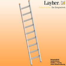 Layher Alu Stufenanlegeleiter,  Leiter 9 Stufen,  L=2,40m,Topic Typ 1042.009