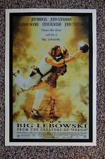 The Big Lebowski Lobby Card Movie Poster #2 Jeff Bridges Julianne Moore