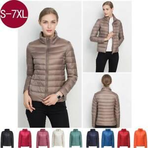 Factory Sale Women Ultralight 90% Duck Down Puffer Jacket Coat Warm Uniqlo Style