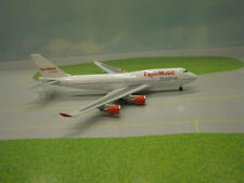 GEMINI JETS EXXON MOBIL AVIATION 747-400 1:400 SCALE DIECAST METAL MODEL