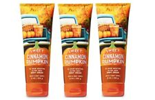 3 Bath & Body Works Sweet Cinnamon Pumpkin Ultra Shea Body Cream 8 oz