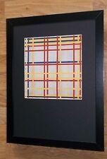 Piet Mondrian print -12''x16'' Framed Mondrian print, New York City by Mondrian