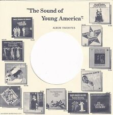 More details for motown, sounds of young america reproduction record sleeves - (pack of 15)
