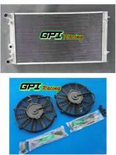 aluminum radiator +FAN  VW FITS BEETLE 1.8 1.9 2.0 2.5 L4 4CYL L5 5CYL 98-2009