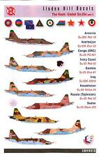 Linden Hill Decals 1/48 SUKHOI Su-25 FROGFOOT in Global Service Part 3