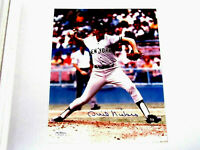 PHIL NIEKRO 300 WIN CLUB YANKEES BRAVES HOF SIGNED AUTO 8 X 10 COLOR PHOTO JSA