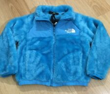 The North Face Denali Fuzzy Fleece Baby Toddler Size 5 Blue And White