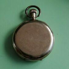 Taschenuhr mit Sprungdeckel defekt alt. Gravur 1914