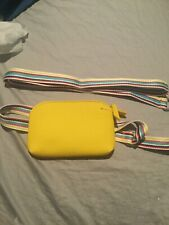 Nordstrom Yellow Small Crossbody Or Belt Bag