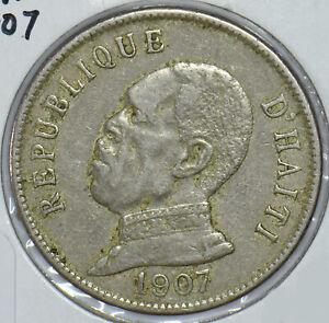 Haiti 1907 50 Centime  290430 combine shipping