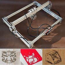 500MW 40x30cm Desktop DIY Mini Laser Cutting Engraving Machine Printer Kit Set