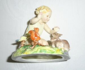 "Royal Worcester Figure/Figurine  ""WOODLAND DANCE"" No.3076 by F.G.Doughty"