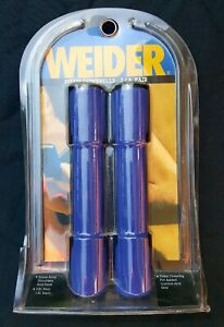 Weider 2lb. Pair Blue Foam Fitness Strength Training Exercise Foam Dumbbells NIP