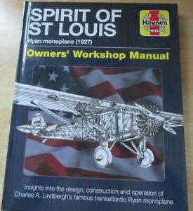 Haynes Spirit Of St. Louis Ryan Monoplane 1927 Owners' Workshop Plane Flight