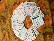 Carte trasferibili ad acqua per decorazione unghie nail art 50 fogli con disegni