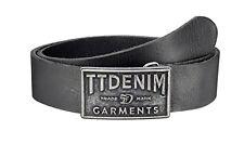 TOM TAILOR Denim Logo Herren Gürtel Garments Belt 100 cm
