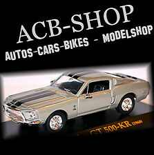 Shelby GT 500-kr 1968 Gris metálico 1:43