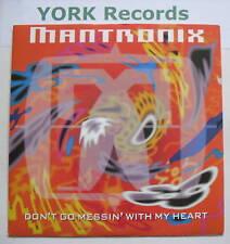 """MANTRONIX-non cercare di giocare """"con il mio cuore-ex con 7"""""""
