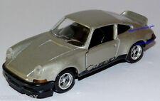 SOLIDO voiture PORSCHE CARRERA RS de 1973 grise Kleines Auto miniature car neuve