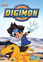 Digimon - DVD - Digital Monsters -  NEW AND SEALED Animated DVD - FREE POST