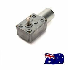 AU Ship High torque Turbo worm Geared motor DC motor GW370 24V 180rpm
