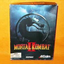 VINTAGE 1994 90s COMMODORE AMIGA CBM MORTAL KOMBAT II 2 VIDEO GAME BOXED