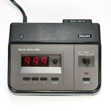 Philips PDC 112 Digital Exposure Timer Enlarger Darkroom 0,1 - 999 Sec. - Tested