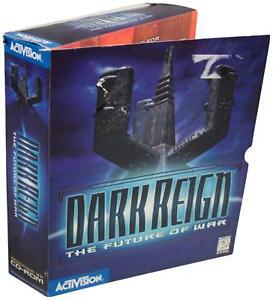 DARK REIGN Future Of War VTG 90s BIG BOX PC GAME Win95 Sci-Fi Strategy 1997 CIB