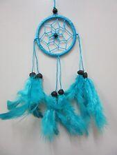 Small Nylon Turquoise Coconut Bead 6cm Web Dream Catcher 32 cm Total Length