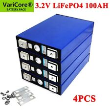 3.2V 100AH LIFEPO4 Battery Pack Iron Phosphate Motorcycle Electric Car Solar