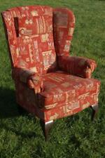 Queen Anne Style Wing Back Fireside Armchair - Sherborne Buckingham Range