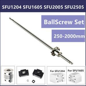 BallScrew SFU1605/SFU1204/SFU2005/2505 End Machine& Housing&Support &Coupler CNC
