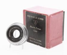 Bausch & Lomb 72mm F/4.5 Macro Tessar Lens