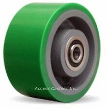 "W-630-DB-3/4 6"" x 3"" Duralast Polyurethane on Cast Iron Wheel, 2200 lbs Capacity"