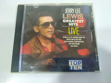 Jerry Lee Lewis Greatest Hits Live 1989 USA Edition - CD