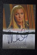 Supernatural Seasons 1-3 A05 Katie Cassidy as Ruby Autograph Auto Trading Card