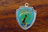 Vintage sterling silver MADEIRA BEACH FLORIDA STATE TRAVEL SHIELD charm #E29