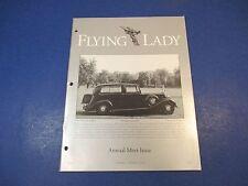 The Flying Lady Rolls-Royce, Magazine Nov/Dec 1996, 1939 Wraith, Annual Meet