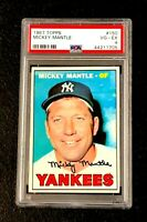 New York Yankees Mickey Mantle 1967 Topps #150 PSA 4 Vg-Ex