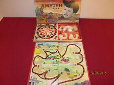 "1959 Leave It To Beaver "" Ambush "" Board Game Made In Usa"