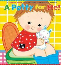A Potty for Me! by Karen Katz (2005, Hardcover)