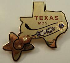 Lions Club Collectors Hat Lapel Pin Lioness Clubs Of Texas Lions Denver Vers #2