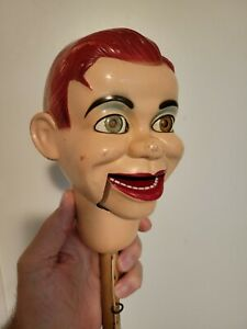 Jerry Mahoney Ventriloquist Dummy *Head Only* rare with *moving eyes*