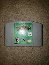Disney's Tarzan (Nintendo 64, 2000) N64 Authentic