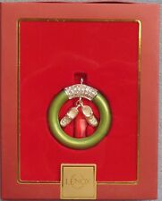 Lenox Baby Jewels Baby Boy Ring Silverplate Ornament New in Box