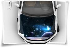 Weltall Planet Motorhaube Auto-Aufkleber Steinschlag-Schutz-Folie Airbrush Sport
