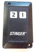 Stinger keyless entry remote controller clicker alarm responder replacement phob