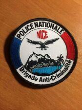 PATCH POLICE NATIONALE FRANCE - BAC NICE