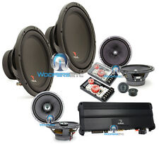 4pkg FOCAL FPP-53000 + 165A1SG + 165CA1SG + (2) SUBS P30 COMPLETE CAR AUDIO PACK